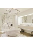 چگونه یک سرویس بهداشتی یا حمام زیبا طراحی کنیم!