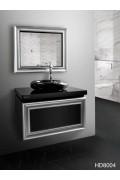کابینت روشویی سفید قهوه ای HD8004 ایده آل Ideal