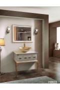 کابینت روشویی سفید پایه دار H803 ایده آل Ideal