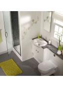 در یک سرویس بهداشتی در یک فضای کوچک بزرگ فکر کنید !