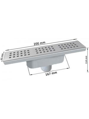 کفشور خطی رویه استیل MTS9600-200 مساتکنیک Mesateknik