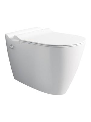 توالت فرنگی وال هنگ سفید براق بیده دار مینرال mineral بین Bien